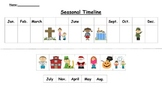 Seasonal and Personal Timeline (American Version)
