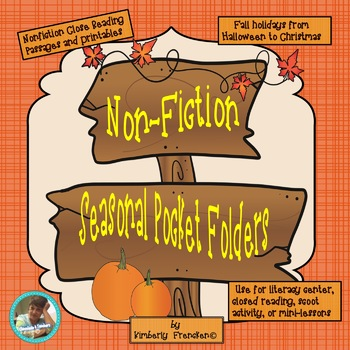 Seasonal Non-Fiction pocket folder bundle