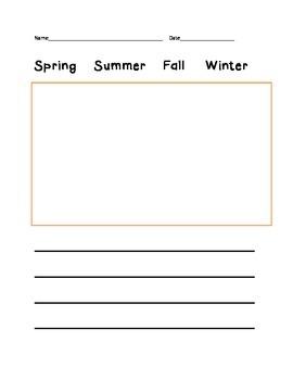 Seasonal writing
