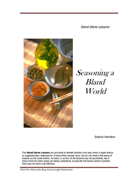 Seasoning a Bland World