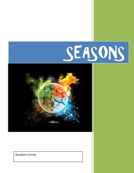 Seasons (12 pages)