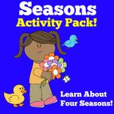 Four Seasons Activities | Four Seasons First Grade | Seasons Kindergarten