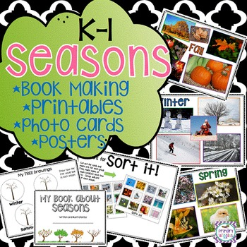 Seasons Packet for Kindergarten and 1st Grade
