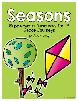 Seasons 1st Grade Journeys Supplemental Resources