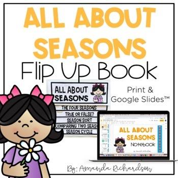 Seasons Flip Up Book