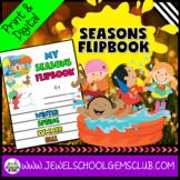 Four Seasons Activities (Four Seasons Flipbook)