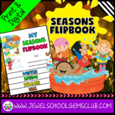 Four Seasons Activities (Four Seasons Flipbook)