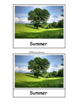 Seasons 3-Part Cards