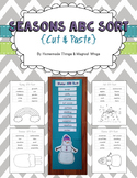 Seasons ABC Sort {cut & paste} K - 2nd