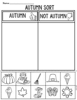 Seasons Activities