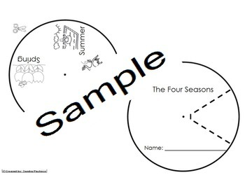Seasons Activities Pack Eng and Spanish Cscope Common Core