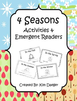 Seasons Activities and Emergent Readers