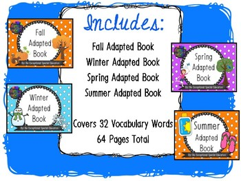 Seasons Adapted Book Bundle