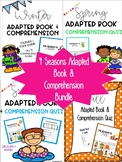 Seasons Adapted Book & Comprehension Bundle
