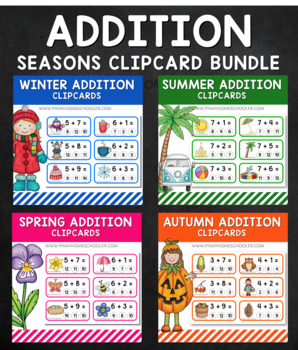 Seasons Addition Clipcard BUNDLE