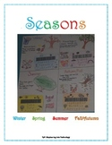 Seasons Anchor Chart