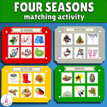 Seasons and Months Matching Game