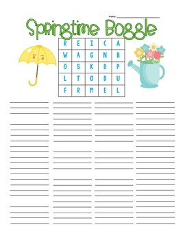 Seasons Boggle Board Bundle
