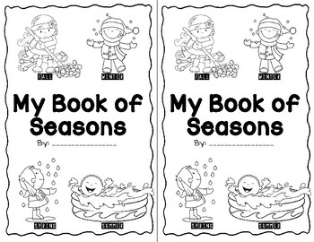 Seasons Of The Year Book