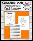 Changes in the Trees Book for Kindergarten (Seasons)