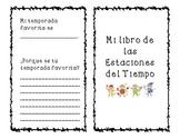 Seasons Book-Spanish