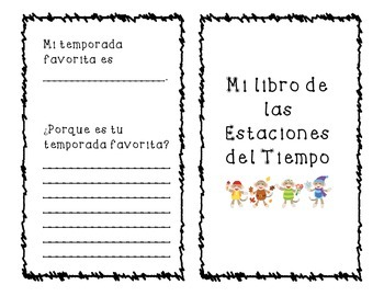 Seasons Book-Spanish