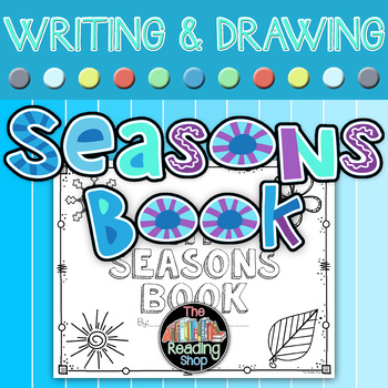 Seasons and Five Senses Book or Literacy Center Activity