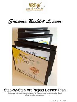 Seasons Booklet Lesson