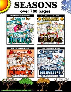Seasons Bundle (250 + pages)