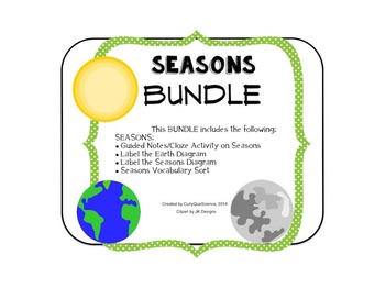 Seasons Bundle (Interactive Notebook)