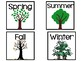 Seasons Calendar Pieces