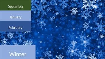 Seasons Categorizing Activity
