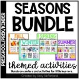 Seasons Centers and Activities Bundle for Preschool, PreK,
