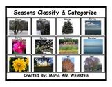 Classify & Categorize Seasons