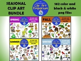 Seasons Clip Art Bundle - The Schmillustrator's Clip Art Emporium