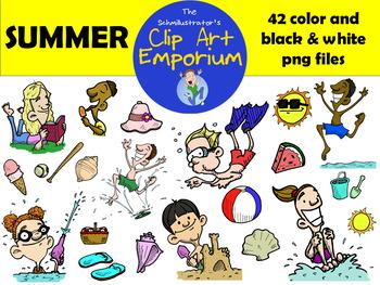 Seasons Clip Art Bundle - The Schmillustrator's Clip Art Emporium
