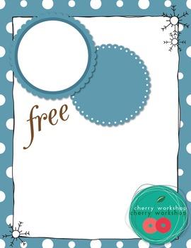 Seasons Clip Art - Coordination Set - Free - {Commercial Use}