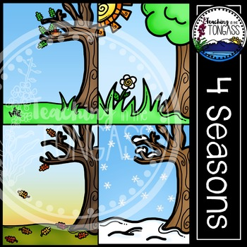 Seasons Background Clipart