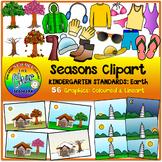 Seasons Clipart (Kindergarten Standards)