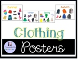 Seasonal Clothing Posters