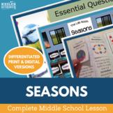 Seasons Complete 5E Lesson Plan