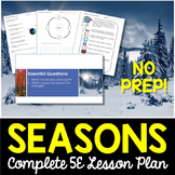 Seasons Complete 5E Lesson Plan - Distance Learning Options