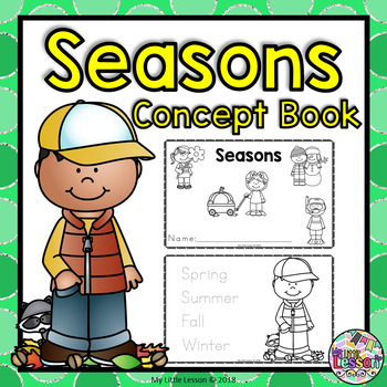Seasons Concept Book