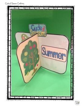 Seasons Craftivity ~ 3-D Craft