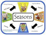 Seasons Craftivity & More Unit