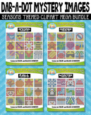 Seasons Dab-A-Dot Mystery Images Clipart Mega Bundle