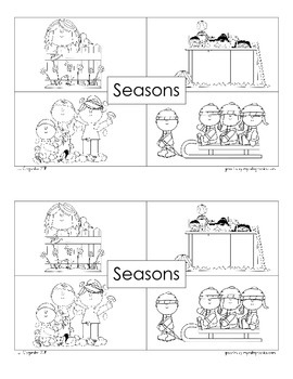 Seasons Emergent Reader