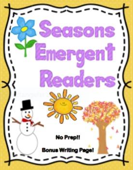 Seasons Emergent Readers