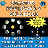 Seasons, Equinoxes, and Solstices SUPER UNIT BUNDLE!
