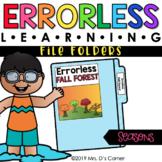 Seasons Errorless Learning File Folder Activities [16 file